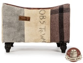 The Barrel Shack™ - The Osbourne - Handmade Ottoman