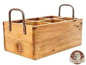 The Barrel Shack™ - The Caddy - Handmade Wooden Bottle Holder