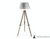 New Haven - Rustic Floor Tripod lamp - Large