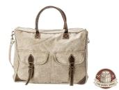 The Barrel Shack™ - The Porter - Handmade Messenger Bag