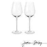 Joshua Steinberg - Crystal Sommelier Red Wine Glass, Pair