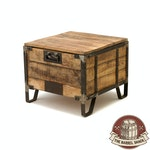 The Barrel Shack™ - The James - Handmade Trunk End Table