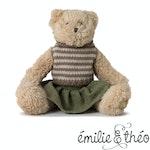 Émilie & Théo - Corey the Bear - Plush Children's Playmate