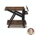 The Barrel Shack™ - Dolly - Handmade Rustic Service Cart