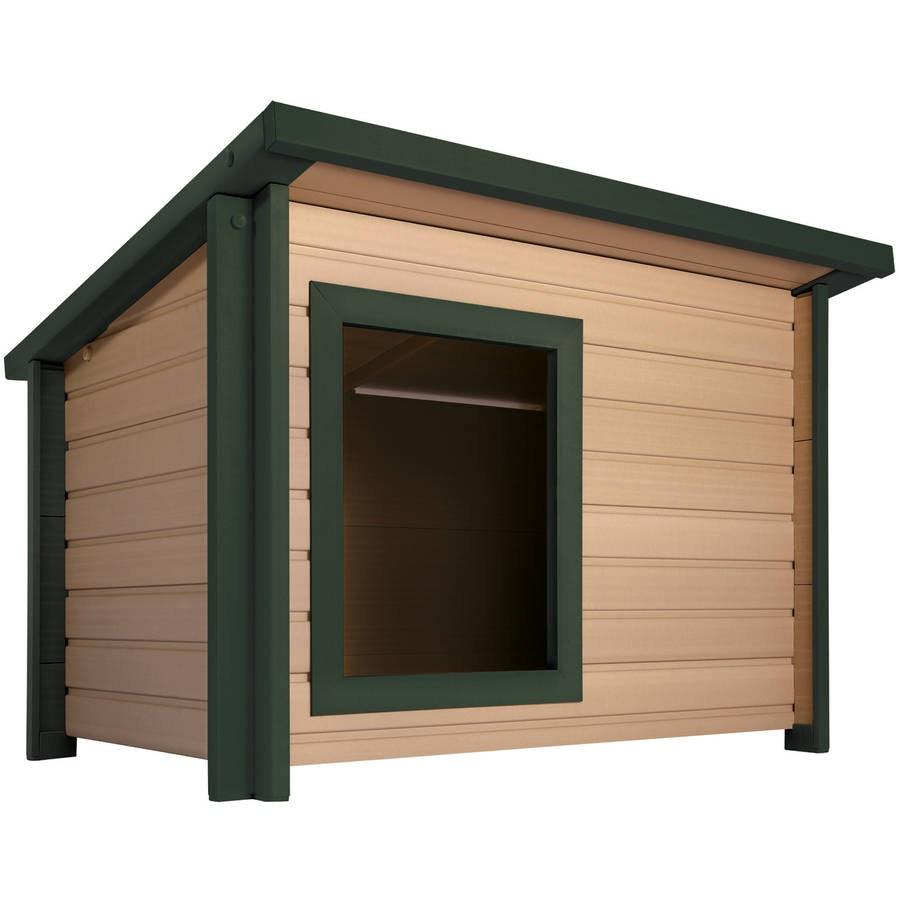 New Age Pet Medium Rustic Lodge Dog House