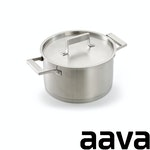 Aava - Elements Stainless Steel Stock Pot with lid