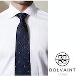 Bolvaint - Tabit Eyes in the Dark Silk Tie