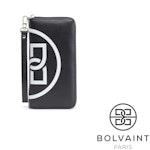 Bolvaint - Freya Black and White Motif Ziparound Wallet