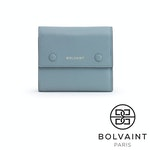 Bolvaint - Simone Foldover Wallet in Orchid Blue