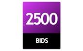 2500 Bid Pack!