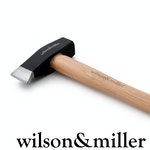 Wilson & Miller - Patriot's 4lb Splitting Hammer with Carbon Steel Head & Hickory Handle