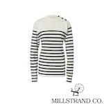 Millstrand Co. Adrie Pullover in Cream & Navy – XL