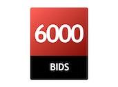 6000 Bid Pack!