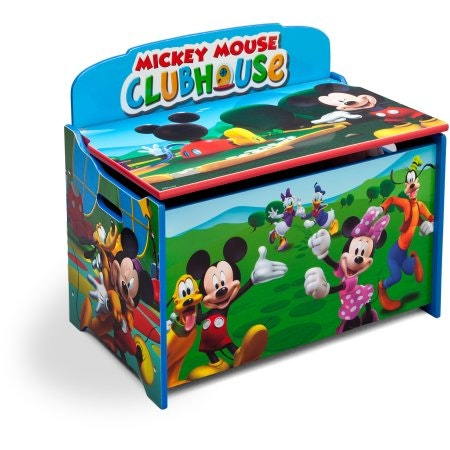 Delta Children's Products Disney Mickey Mouse Deluxe Toy Box