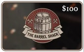 $100 The Barrel Shack™ eGift Card