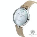 Bolvaint Nu'utea Mother-of-Pearl Ladies' Watch - South Sea White