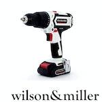Wilson & Miller FieldForce 20V 26400bpm Cordless Hammer Drill