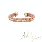Ashlynn Avenue - Antonia 18K Rose Gold-Plated Wrist Cuff