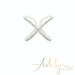 Ashlynn Avenue - Lafayette 18K White Gold-Plated Wrap Ring 0.45 Ctw - Size 6
