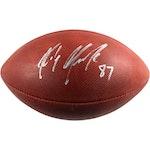 Steiner Sports - Rob Gronkowski Signed Duke NFL Football w/ Display Case