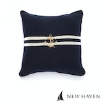 New Haven - Pure Cotton Knitted Pillow, Ahoy Captain!