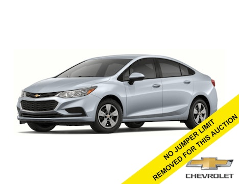 2018 Chevrolet Cruze Sedan LS - Automatic - Silver Ice Metallic