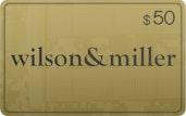 $50 Wilson & Miller™ eGift Card