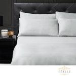 Isselle Beaufort Sheet & Duvet Cover Set - Queen - Slate Grey