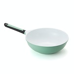 Miranella Eco-Nutri Wok – 11in Ceramic Non-Stick, Non-Scratch Wok