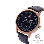 The Bolvaint Mallory Noir in Rose Gold, Men's Watch