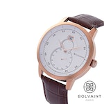 The Bolvaint Mallory Blanc in Rose Gold, Men's Watch (Ships by 3/15)