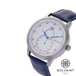 The Bolvaint Mallory Blanc in Ash Silver, Men's Watch (Ships by 3/15)
