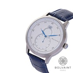 The Bolvaint Mallory Blanc in Ash Silver, Men's Watch