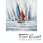 Nauticus - Oil Painting from Far East Collection - 31.5-in x 31.5-in