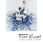 Bluebell's Dance - Oil Painting from Far East Collection - 39.4-in x 39.4-in