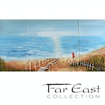 At the Edge of the World - Oil Painting from Far East Collection - 55.1-in x 27.6-in