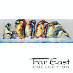 Symphony - Oil Painting from Far East Collection - 59-in x 19.7-in