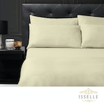 Isselle Beaufort Sheet Set - Queen, Natural Beige (Ships by 5/30)