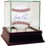 Steiner Sports - Jeurys Familia Signed MLB Baseball ( MLB Auth) with Display Case