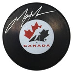 Steiner Sports - Mark Messier Signed Team Canada Puck with Display Case