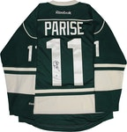 """Steiner Sports - Zach Parise Signed Minnesota Wild Reebok Premier Green Jersey w/ Alternate Captain """"A"""""""