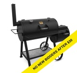 Oklahoma Joe's Highland 879-sq in Black Charcoal Horizontal Smoker