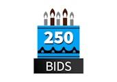 Special 250 Bid Pack! DealDash 10 years old!