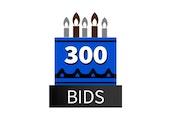 Special 300 Bid Pack! DealDash 10 years old!