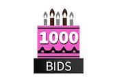 Special 1000 Bid Pack! DealDash 10 years old!