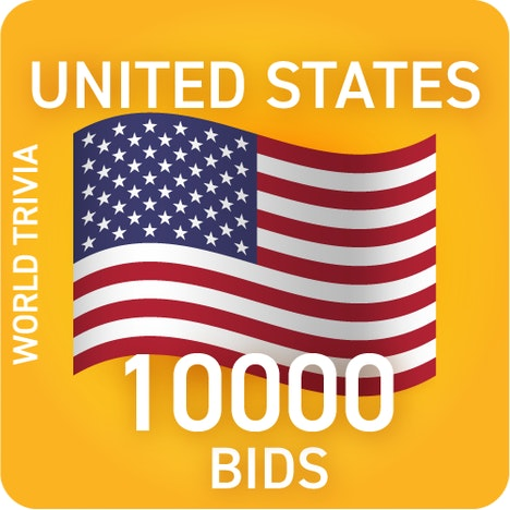 America, let's go! 10000 bid pack. Did you know...