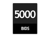 5000 Bid Pack