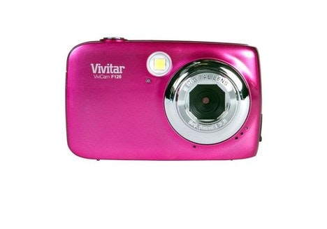 Vivitar Pink ViviCam VF126-PNK-WM Digital Camera with 14 Megapixels