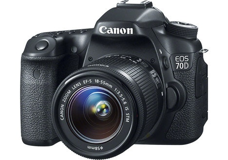 Canon EOS 70D Digital SLR Camera with 18–55mm STM Lens