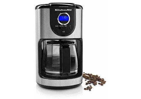 Kitchenaid Coffee Maker Not Hot Enough : DealDash - KitchenAid 12-Cup Coffeemaker